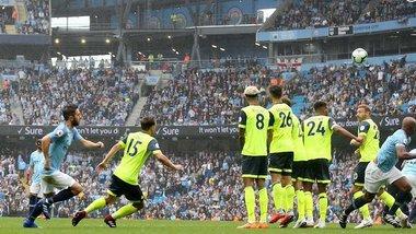 Манчестер Сіті розтрощив Хаддерсфілд, Уотфорд впевнено переміг Бернлі