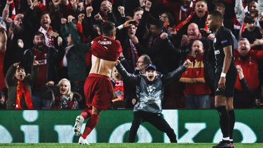 Ливерпуль вырвал феерическую победу над ПСЖ на старте Лиги чемпионов
