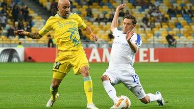 Динамо – Астана: онлайн-трансляция матча Лиги Европы