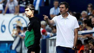 Наставник Леганес намекнул, когда Лунин сможет дебютировать за свой клуб