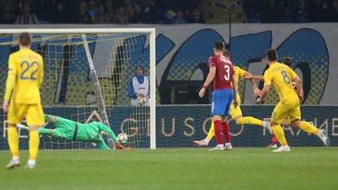 Украина победила Чехию и первой досрочно вышла в элитный дивизион Лиги наций