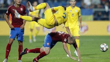 Украина – Чехия: онлайн-трансляция матча Лиги наций