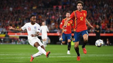 Лига наций: Англия на выезде уверенно победила Испанию