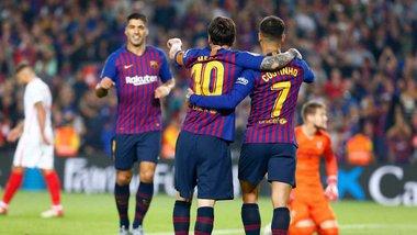 """Барселона – Севилья: победа """"блаугранас"""", проверка на """"мессизависимость"""" и неожиданный """"каталонский супермен"""""""