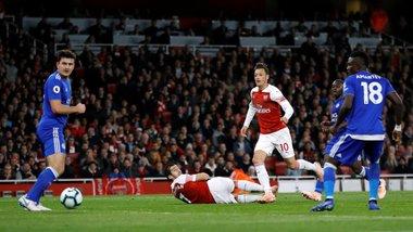Арсенал переміг Лестер і здобув десяту перемогу поспіль в усіх турнірах