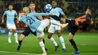 Шахтер – Манчестер Сити: односторонний первый тайм в матче Лиги чемпионов