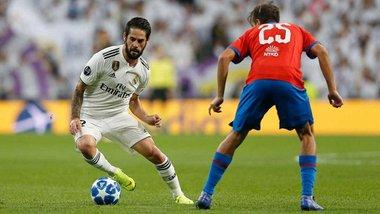 Лига чемпионов: Реал минимально победил Викторию, Рома разгромила ЦСКА