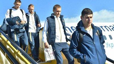 Збірна України прибула у Словаччину на матч Ліги націй