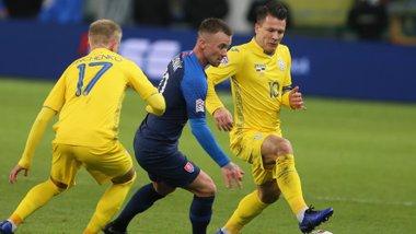 Словаччина розгромила Україну в матчі Ліги націй – опустили з небес на грішну землю
