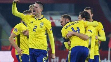 Швеція – Росія: стартові склади на матч Ліги націй