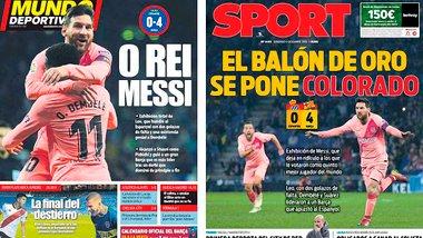 Мессі як культовий фільм із Золотим м'ячем, Роналду вже не найкращий в Італії, шок Срни – підсумки євровікенду