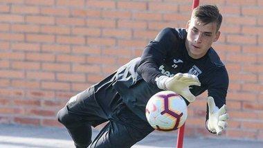 Кубок Іспанії: Леганес Луніна зіграє проти Реала, якому належить контракт українця