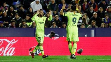 Леванте – Барселона: разгром провинциальной романтики, инопланетный Месси и сомнительный эксперимент Вальверде