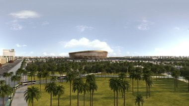 Катар презентував дизайн головної арени ЧС-2022