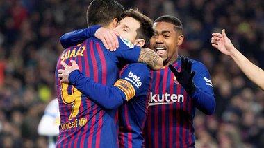 Барселона не без труднощів перемогла Леганес – Кравець та Лунін провели матч у запасі