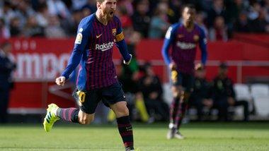 Барселона перемогла на виїзді Севілью завдяки хет-трику Мессі та закріпила лідерство у Ла Лізі