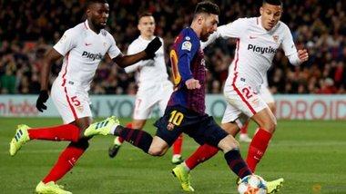 Севілья – Барселона: пряма трансляція