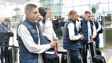 """Люксембург – Украина: """"сине-желтые"""" прибыли на матч отбора к Евро-2020"""