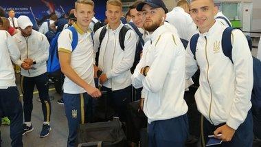 Збірна України U-20 вирушила до Польщі на ЧС-2019