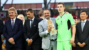 Лунін – найкращий голкіпер юнацького чемпіонату світу