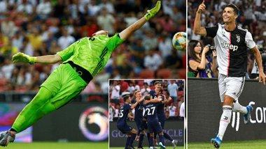 Ювентус – Тоттенхэм: Кейн забивает с центра поля, столь разные дебюты многомиллионных новичков, а Роналду – как всегда