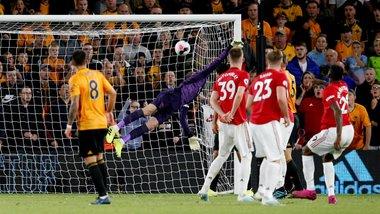 Манчестер Юнайтед і Вулверхемптон розписали бойову нічию – Невеш забив фантастичний гол, Погба не реалізував пенальті