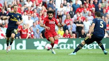 Ліверпуль – Арсенал: топ-клас Салаха, провал Давіда Луїса та заслужене лідерство команди Клоппа з рекордною серією