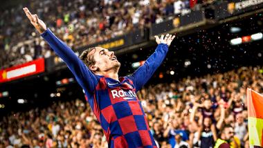 Барселона яскраво перестріляла Бетіс – Грізманн приміряв роль Мессі, оформивши дубль і асист