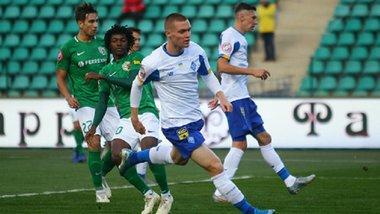 Ворскла – Динамо: Цыганков быстро вывел киевлян вперед