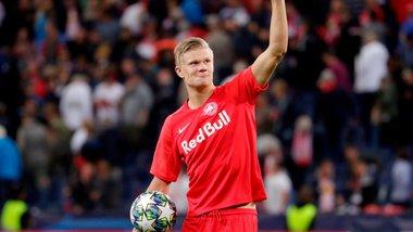 Холанд став найкращим гравцем тижня в Лізі чемпіонів