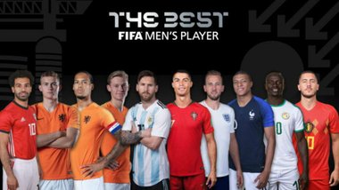 FIFA The Best-2019: названа символічна збірна року