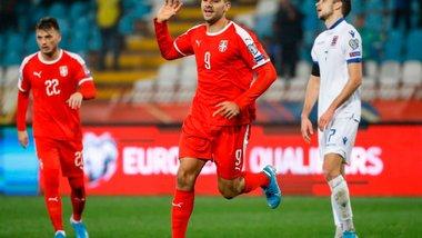 Євро-2020: Сербія втримала важку перемогу над Люксембургом – один з п'яти голів у матчі забив Жерсон Родрігес