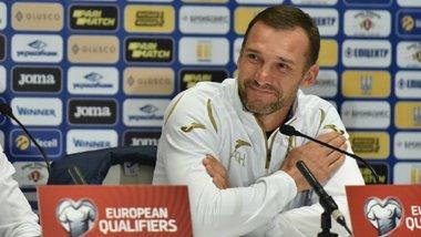 Украина – Эстония: предматчевая пресс-конференция Андрея Шевченко