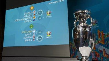 Результати жеребкування стикових матчів Євро-2020 – зменшилось коло потенційних суперників України