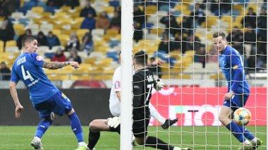 Заря переиграла Динамо в большинстве на выезде и вырвалась на второе место