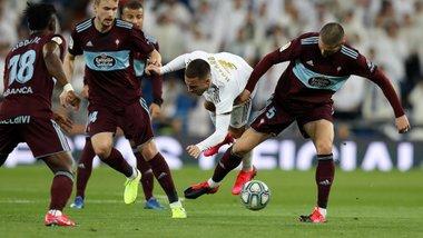 Реал втратив перемогу над Сельтою – Азар зіграв вперше після травми і організував гол