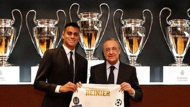 Реал офіційно представив Рейньєра – новачок розплакався під час урочистої церемонії