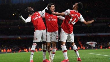 Арсенал переграв Евертон, Манчестер  Юнайтед розтрощив Уотфорд: 27-й тур АПЛ, неділя