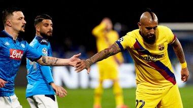 Наполі – Барселона: стартові склади на матч 1/8 фіналу Ліги чемпіонів