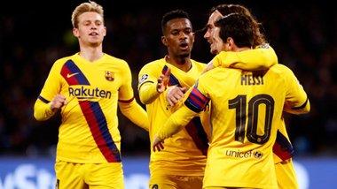 Барселона вирвала нічию в Наполі, втративши двох основних гравців на матч-відповідь