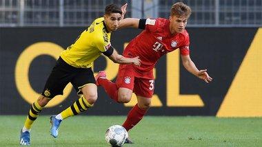 Бавария минимально победила Боруссию Д – шедевр Киммиха убил интригу в борьбе за чемпионство