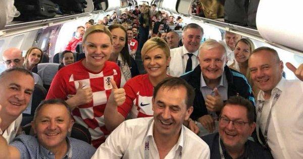 62699c7a882d1a Президент Хорватії Колінда Грабар-Китарович відвідала поєдинок 1/8 фіналу  ЧС-2018 проти Данії, у якому її співвітчизники здобули перемогу в серії ...