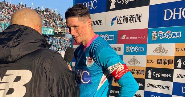 Торрес голом спас Саган Тосу от прямого вылета из J-Лиги