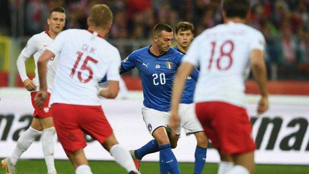 Головні новини футболу 14 жовтня: Італія здолала Польщу, суперник збірної України в Лізі націй залишився без тренера