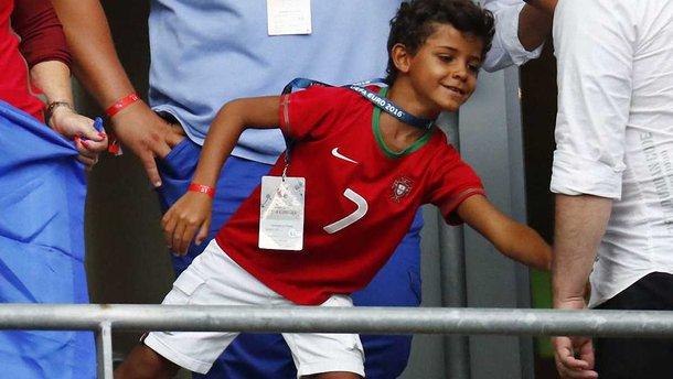 Роналду показав, як його син знову феєрить у дитячій команді Ювентуса