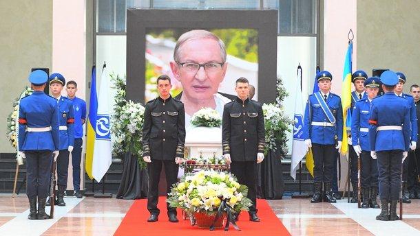 Базилевича поховали поруч з Лобановським