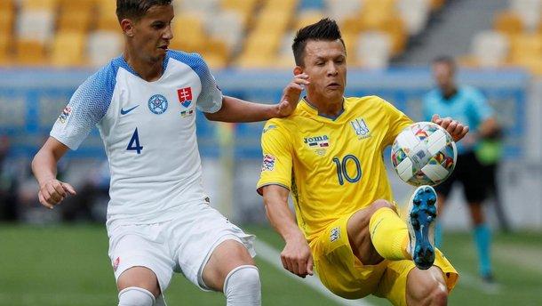 Словаччина – Україна: анонс матчу Ліги націй