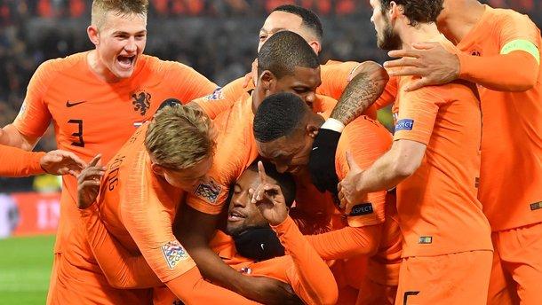 Ліга націй: Нідерланди впевнено здолали збірну Франції