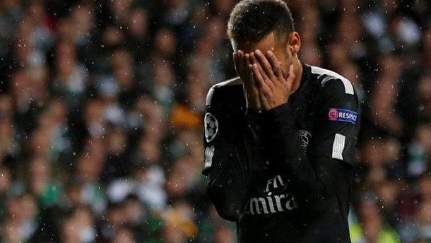Неймар вернется на поле к матчам 1/4 финала Лиги чемпионов