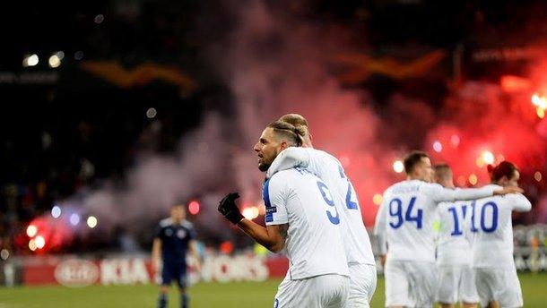 Динамо переграло Олімпіакос і заслужено пройшло в 1/8 Ліги Європи – Соль і Бойко стали героями зустрічі